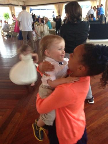 Martin Dancing with Samara