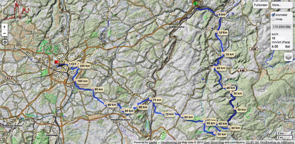 17.08.2013 Cycling day in Saarland