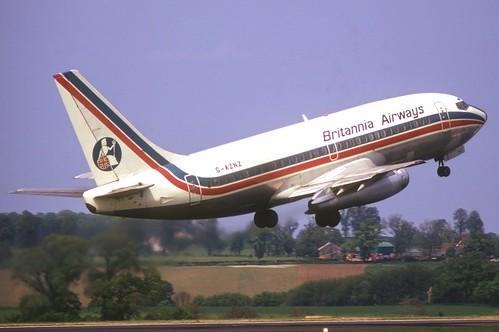 Aircraft (B732) silhouette