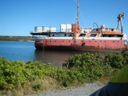 Rusting Hulk of a Boat