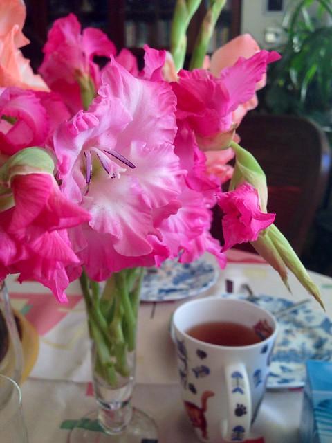 Вечерняя чашечка чая
