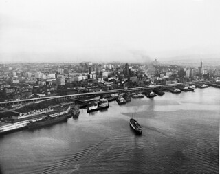 Waterfront and skyline, 1952