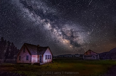 Milky Way At The Mormon Row Home