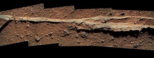 Curiosity sol 400 MAHLI mosaic