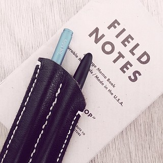EDC Note-Taking System.. #adonit #jotmini for #iPad and #fisherspacepen for #fieldnotes