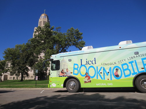 Lied Bookmobile during Streets Alive 2013