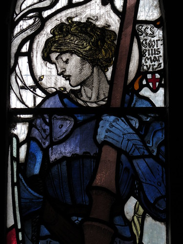 Contemplative St George