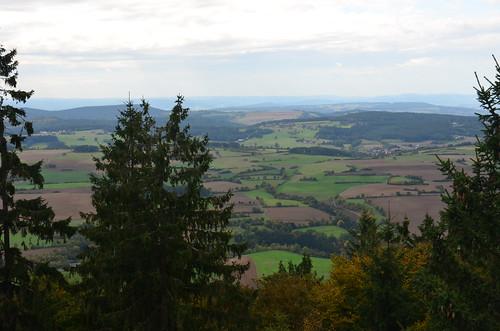 Blick in die Umgebung von der Radspitze aus