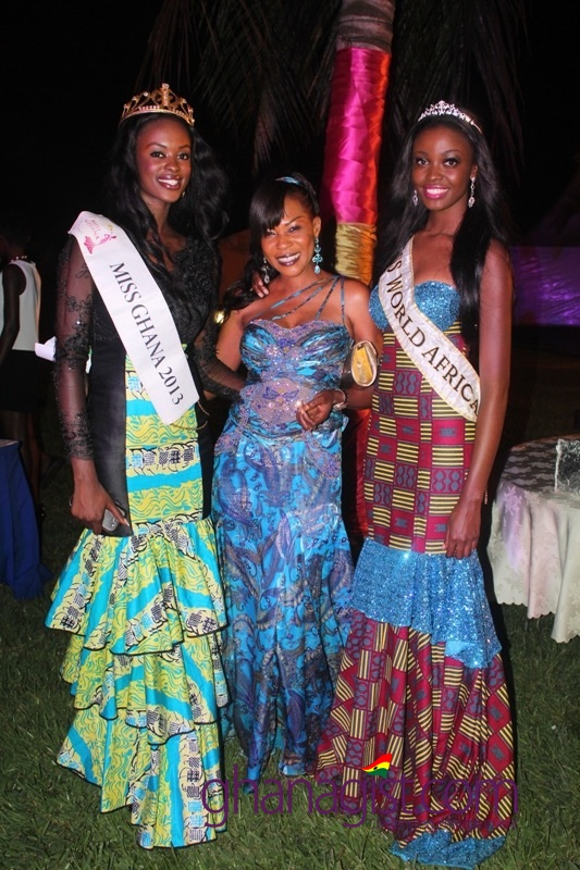 Welcome Reception for Miss World Africa Miss World 2013, Carranzer Naa Okailey Shooter