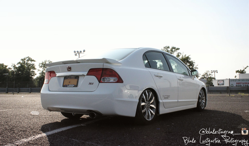Stanced Wide Wheel 8th Gen Civic Only Pictures And Chat Page