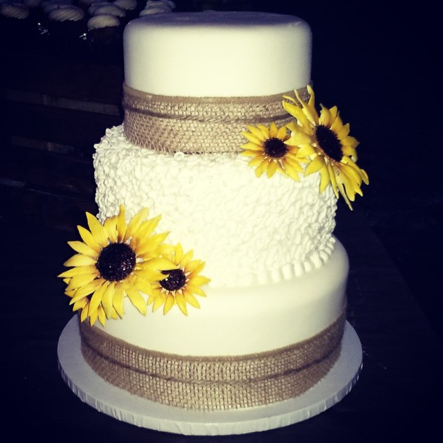 Sunflower Wedding Cake Ideas: Flickriver: Photoset 'Our Entire Custom Cake Gallery' By