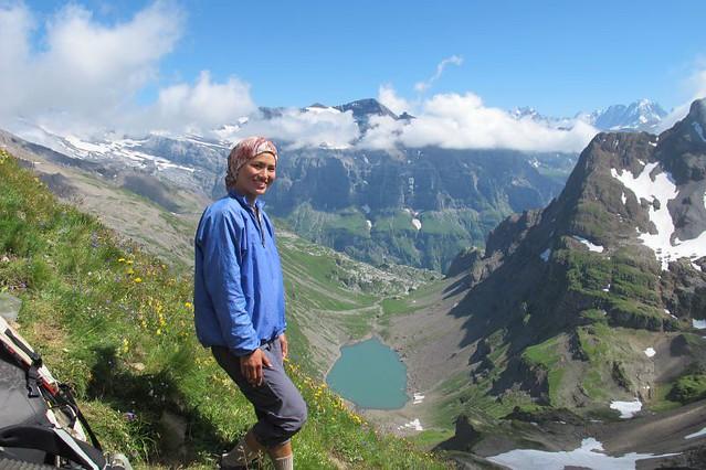 me and Lac de la Vogealle