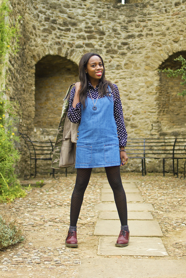 how to style a pinafore