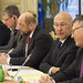 Laszlo Andor, Martin Schulz, Michel Sapin, Nicolas Schmidt