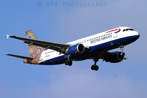 G-BUSJ British Airways Airbus A320