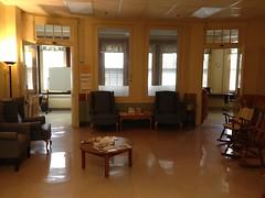 Dorothea Dix Lounge area