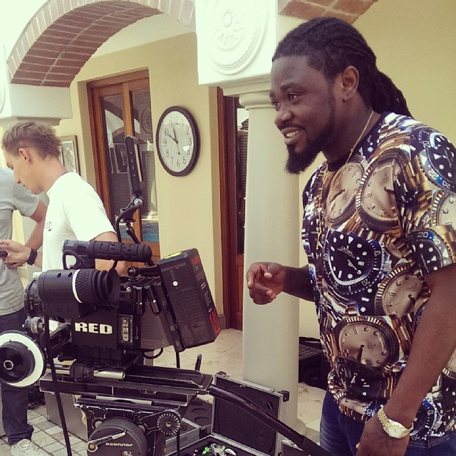 4X4 shoots music video for 'We No Dey Carry Last'