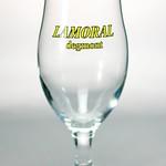 ベルギービール大好き!!【ラモーラル・デグモン・トリプルの専用グラス】(管理人所有 )