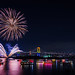 Odaiba fireworks2 by 1/4th