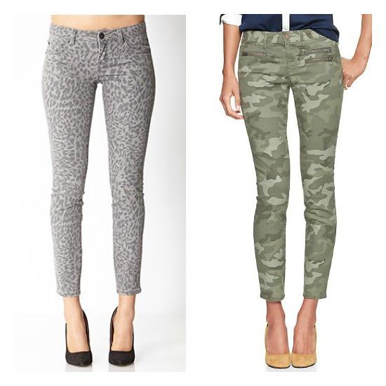 Hi Sugarplum | favorite patterned jeans