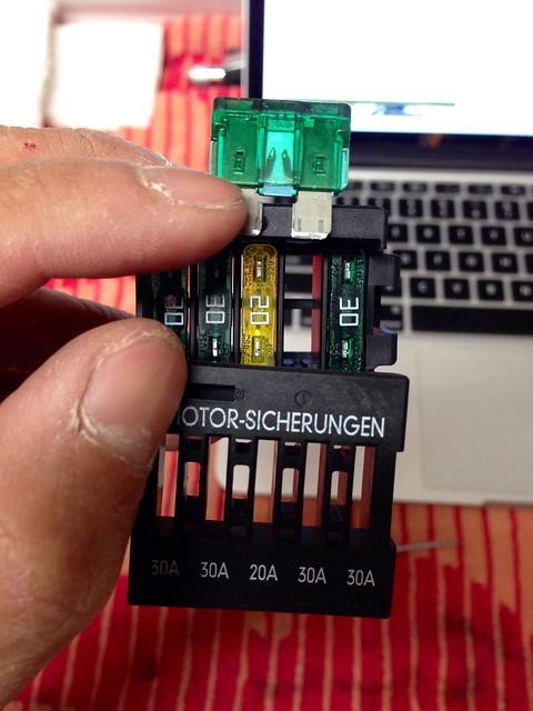 F4 on fuse block
