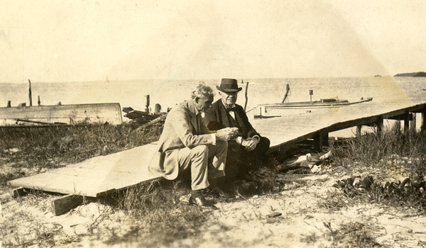 Henry Ford and Thomas Edison in Punta Rassa, Florida