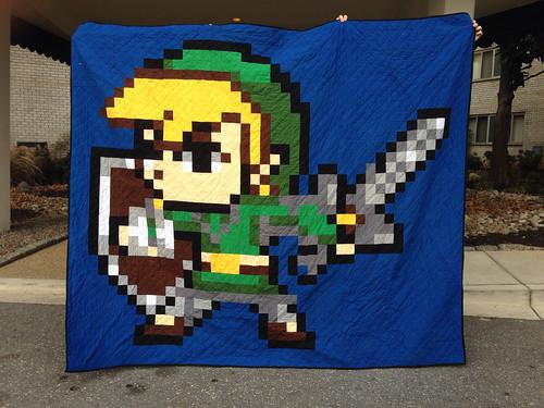 Link pixel quilt