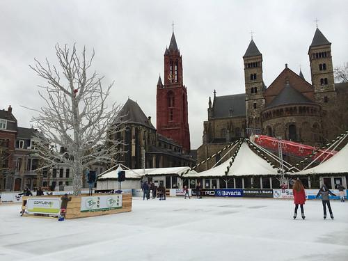 Christmas Market on the Vrijthof in Maastricht