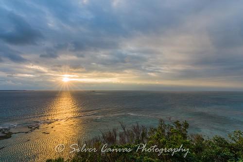 japan sunrise cape okinawa chinen