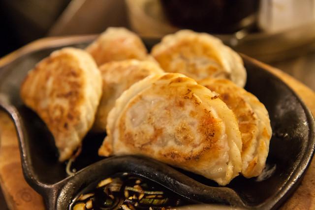 Vegetable dumplings, Noodle Village