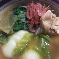 noodle(0.0), noodle soup(0.0), kuy teav(0.0), wonton(0.0), zåni(1.0), sinigang(1.0), food(1.0), dish(1.0), soup(1.0), cuisine(1.0), nabemono(1.0),