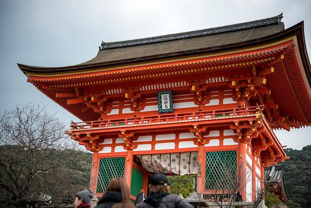 初詣は京都の清水寺へ