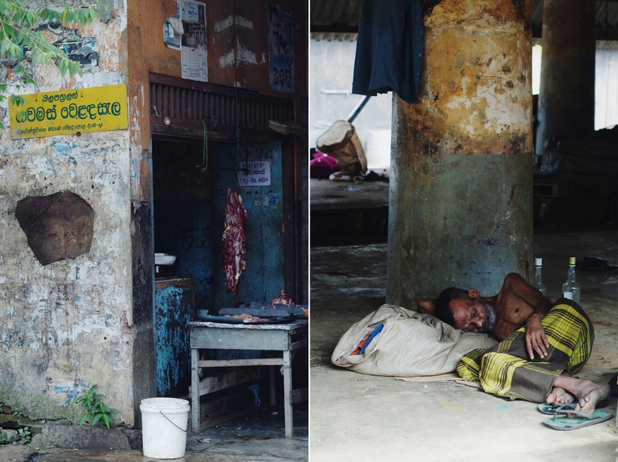 market in galle sri lanka