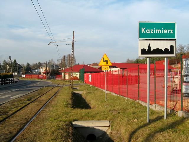 wjazd do Kazimierza