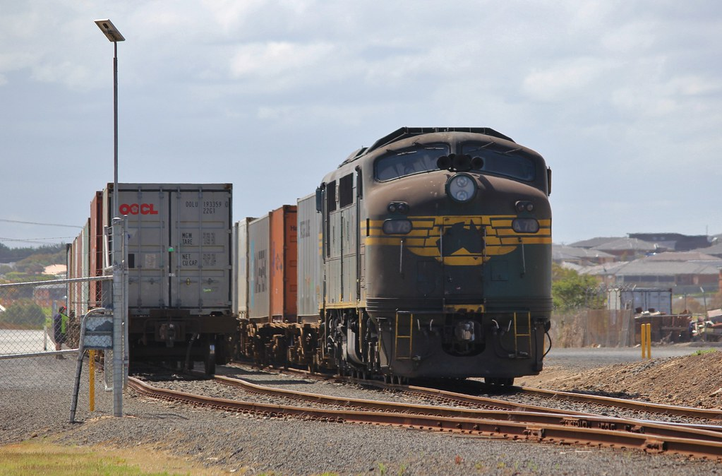 A78 has just arrived and shunted its train at WestVic Warrnambool by bukk05