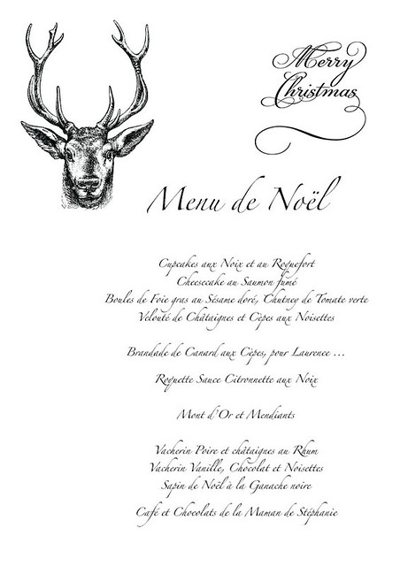 menu de noël 1 copie copie