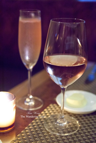 Our glass of Estandon Côtes de Provence Rosé 2012 & Arbor Blush