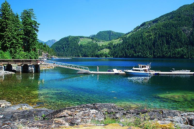 Moutcha Bay, Nootka Sound, Vancouver Island, British Columbia, Canada