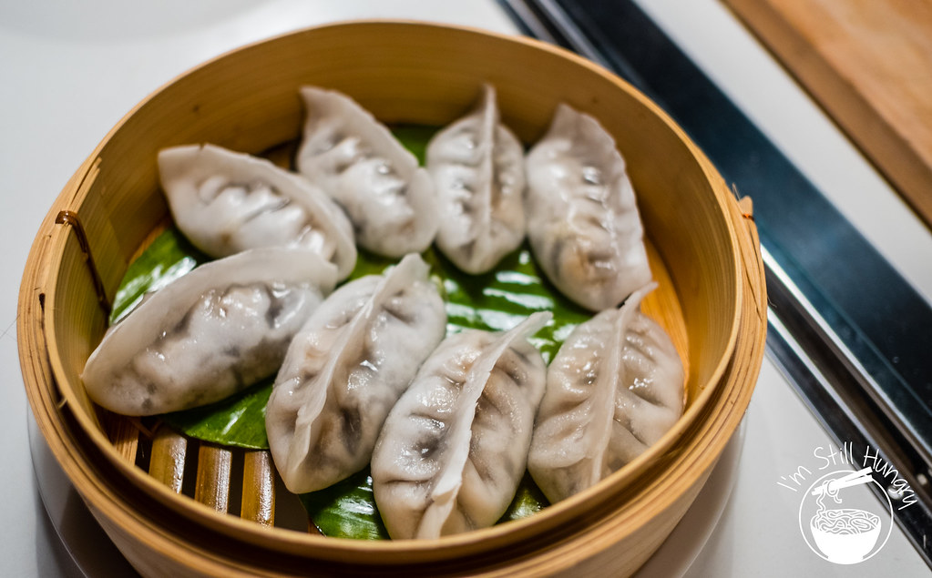 5-type wild mushrooms dumplings, love on top, potts point