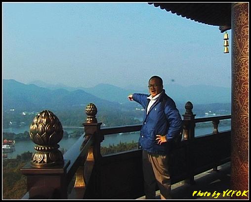杭州 西湖 (其他景點) - 355 (西湖十景之 雷峰塔上背景是蘇堤與花港觀魚方向)