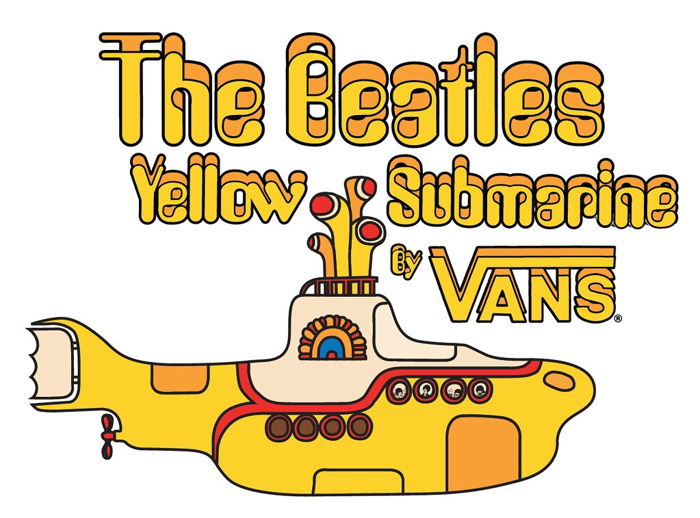 Vans x The Beatles Logo