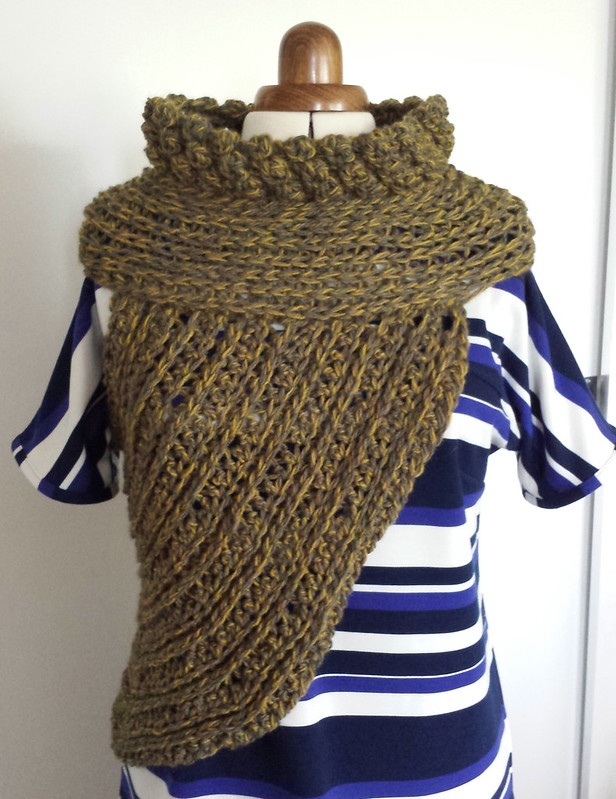 Katniss cross-body cowl