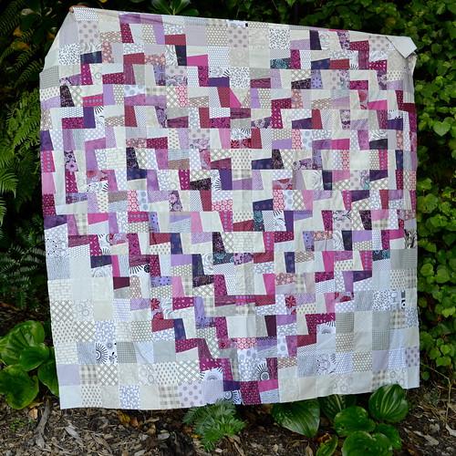 Fractured Heart - Pantone Quilt