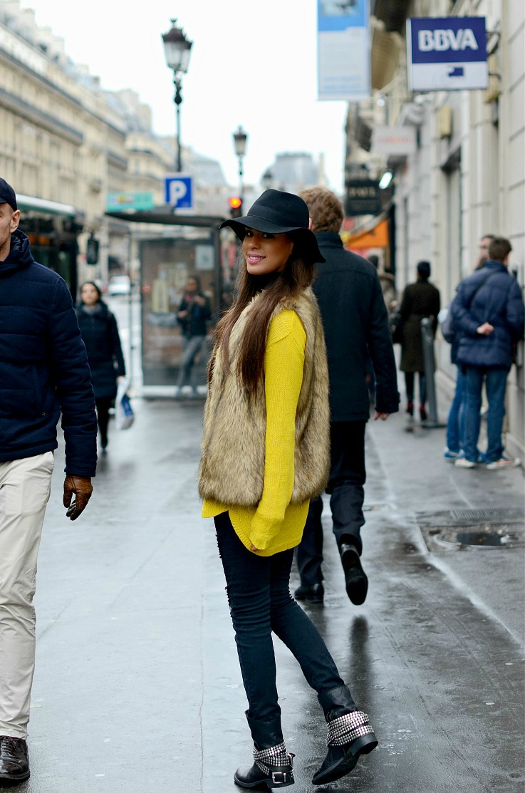 DSC_5189 Yellow Zara Sweater, Myca Couture Hat, Paris,2 resized