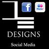 DE Designs Social Media
