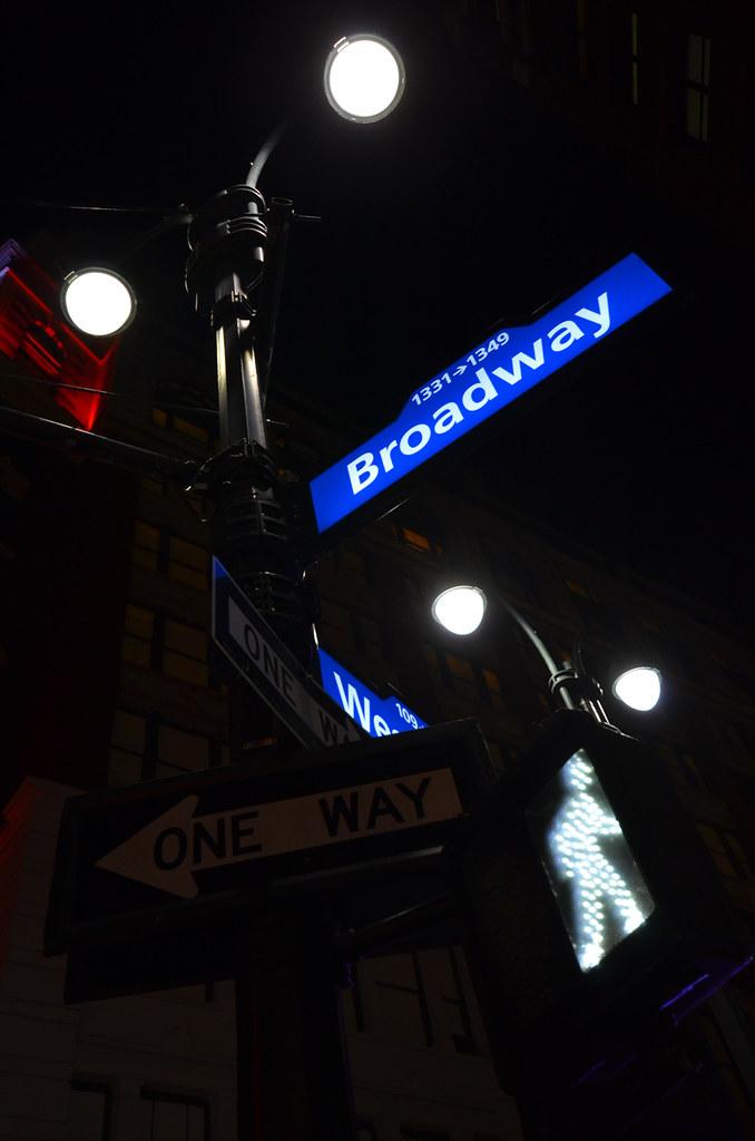 Carteles de Broadway