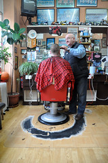 barbers stockport road levenshulme manchester - where i was privileged to spend an hour in his company ...