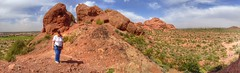 Hiking the Small Butte Trail in Papago Park