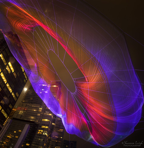 Public aerial art at TED Conference Vancouver