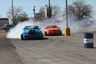 Jim and Sean Guthrie Drifting